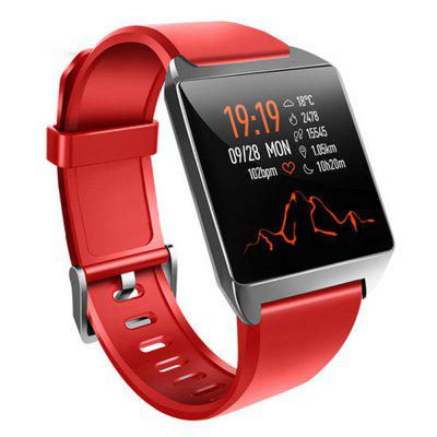W2 Smart Watch Alloy High End Bracelet Heart Rate Blood Pressure Water Sports Pedometer Sleep Monitoring Intelligent Watches