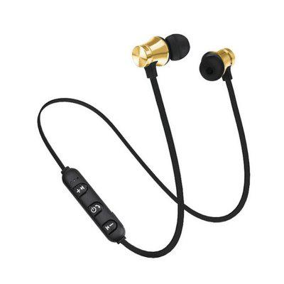 XT11 Magnetic Wireless Bluetooth Music Headphones Sports Earphones with Microphone