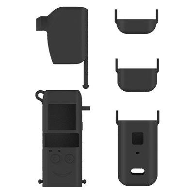 STARTRC 5-in-1 Gimbal Base Handle Anti-drop Silicone Protection Case for DJI pocket 2