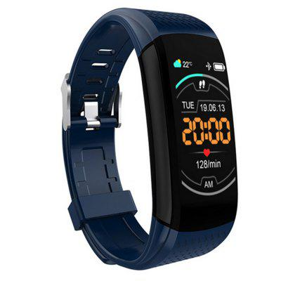 C8 Color Screen Smart Bracelet Exercise Pedometer Heart Rate Blood Pressure Sleep Sedentary Monitoring Waterproof Wristband