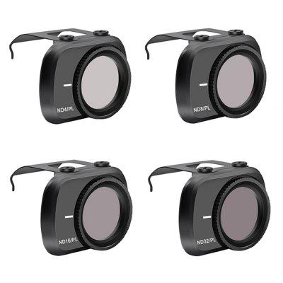 STARTRC Optical Lens Adjustable ND / CPL UV Filter Kit for DJI Mini 2 4PCS