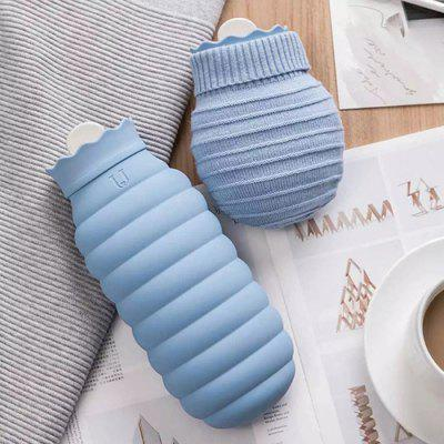 Microwaveable Silicone Hot Water Bottle Long-lasting Insulation from Youpin