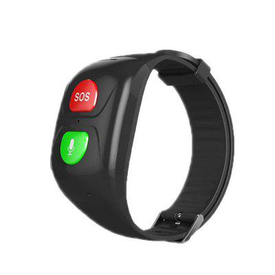 Elderly Anti-lost Smart Bracelet SOS Multifunction GPS Positioning Wristband Call Heart Rate Blood Pressure Voice Time Report