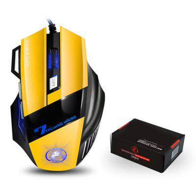 X7 Wired Gaming Mouse 7 Buttons Optical 5000DPI Professional USB Gamer Computer Mice for PC Laptop