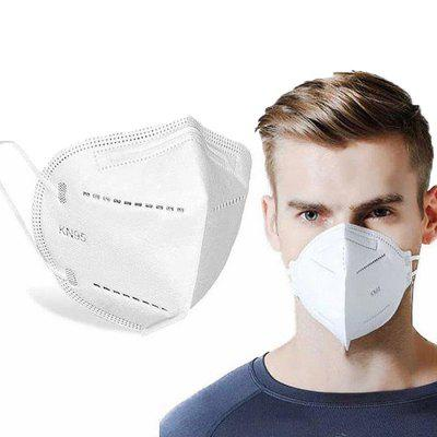5-Ply Face Disposable Mask Anti Particulate Droplets Dust PM 2.5 Fog Respirator 20PCS