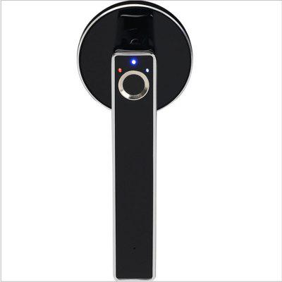 WF-015A Wireless Security Electronic Smart Invisible Fingerprint Lock Indoor Door Handle for Office Home Hotel Wooden