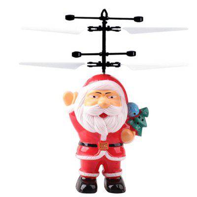 Novelty Santa Induction Aircraft Toy Christmas Children Gift