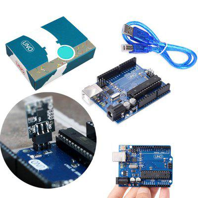 Development Board Shield Official Version for UNO R3 Motherboard MEGA328P with USB Cable