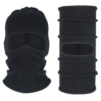 Autumn Winter Cycling Mask Multifunctional Polar Fleece Warm Face Protection Bib Cap Ski Headgear