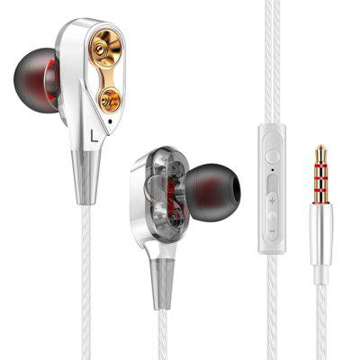 Фото - QKZ CK8 Headphone Double Unit Drive 3.5mm In-Ear Earphones with built-in Microphone promoting walkability in historic streets