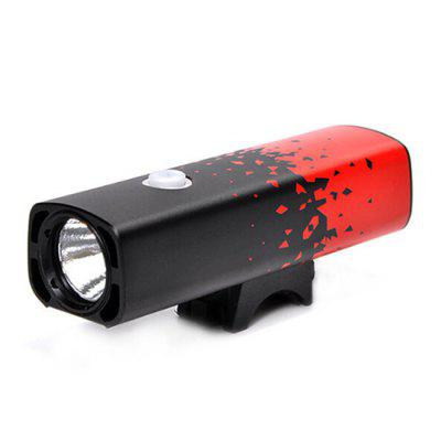 Bike Light Bicycle Lamp New USB Charging Mountain Front Riding Equipment Accessories
