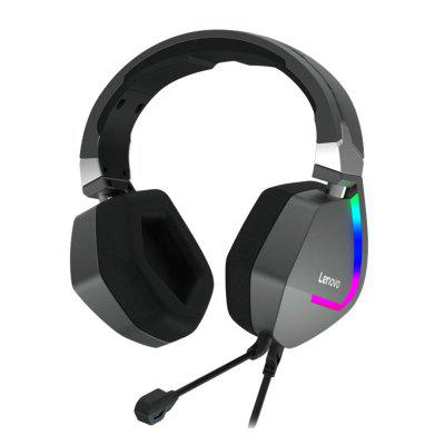 Lenovo H402 Wired Luminous Gaming Headset 7.1 Channel Internet Cafe E-sports Chicken Special