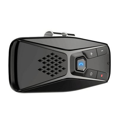 T823 Car Sunshade Bluetooth 5.0 Receiver Wireless DSP Hands-free Call Music Playback Seven Language Prompt Kit Charger Speaker
