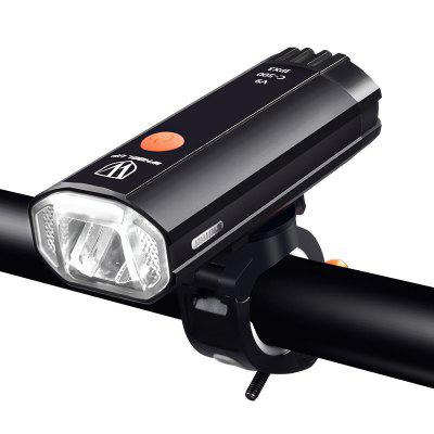 Gearbest - Utorch Bike Light USB Charging LED Safety Lamp Flashlight Riding Bicycle Headlights