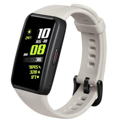 Honor Band 6 Smart Wristband 1.47 Inch Amoled Touch Screen Professional Sports Fitness Tracker Heart Rate Blood Oxygen Monitor Long Standby Smart Watch