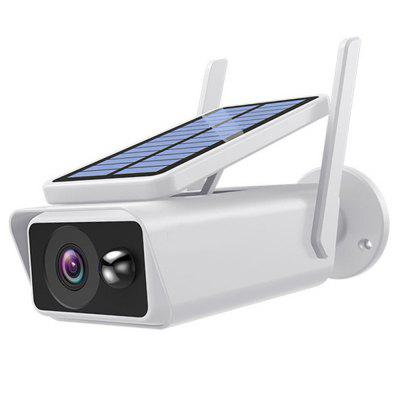 Фото - IP Camera Solar Monitoring Camera Waterproof Outdoor Online Remote Control Low Power Periodical Infrared Night Vision navo 10w x 2 double amplifer mp3 decoder board w remote control silver
