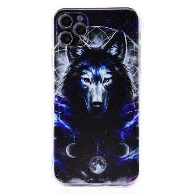 Phone Case Wolf Series Painted Mobile Soft Shell Silicone for iPhone 11