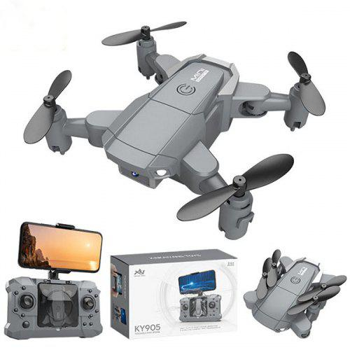 KY905 Mini Foldable HD RC Drone Quadcopter HD Four-axis Remote Control Aircraft
