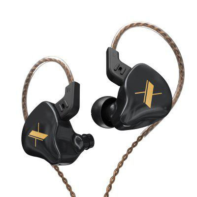 Фото - KZ EDX In-Ear Headphone with Microphone Wire Control Universal Mobile Computer Games Sports Fashion Trend Music Earphones came twin2 cametwin4 garage door gate transmitter universal remote control duplicator 433 92mhz fixed code