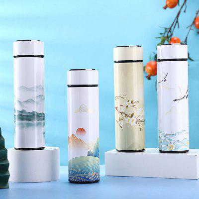 China-style Smart Insulation Cup Thermos Bottle