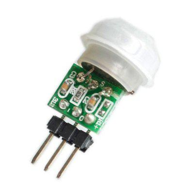Micro Human Body Induction PIR Infrared Module Thermal Release Pyroelectric Human Body Infrared Sensor Module l806 infrared sensor light gold