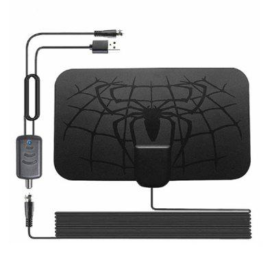 Indoor 1500 Miles Digital TV Antenna Enhanced HD 4K DVB-T2 FreeView ISDB-TB Local Channel Broadcast