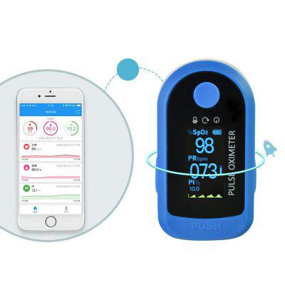 Bluetooth Version Fingertips Blood Oxygen Pulse Detection Saturation Finger Clip Pulse Oximeter