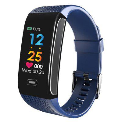 CK18S Smart Bracelet Heart Rate and Blood Pressure Monitor Color Screen Sports Wristband
