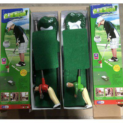 Children Golf Club Mini Doll Toy Set Indoor Outdoor Portable Parent-child Game 60*40CM