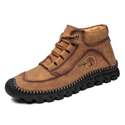 IZZUMI Mens Casual Shoes Outdoor Leather