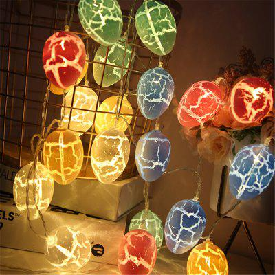 Cracked Eggshell Room Decoration LED String Lamp Holiday Lights