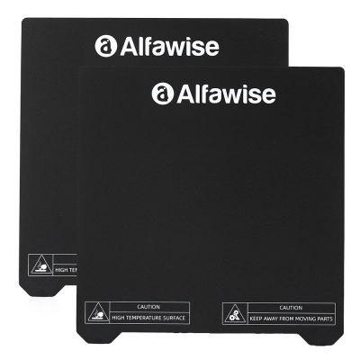 Alfawise Stainless Steel Printer Part Magnetic Post 230 x 230mm for All FDM 3D Printer Alfawise U30 / U30 Pro Creality Ender-3 / Ender-3 Pro Ender-3 V2 2PCS