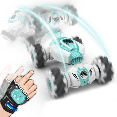 RC Stunt Car Children Remote Control Climbing Car Charging Electric Gesture Sensor Lateral Deformation Torsion Four Wheel Drive Drift Special Truck