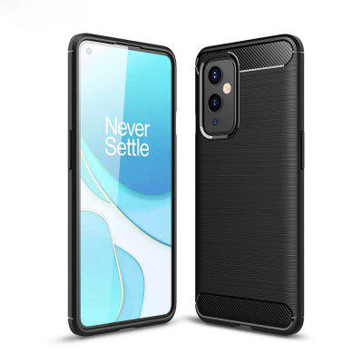 ASLING Carbon Fiber Series High Quality TPU Phone Case for OnePlus 9 gemfan 12x6 inch 1260 carbon fiber propeller apc for dji multicopter cw ccw