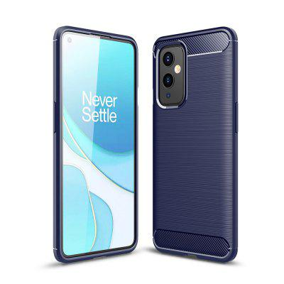 ASLING Carbon Fiber Series High Quality TPU Phone Case for OnePlus 9