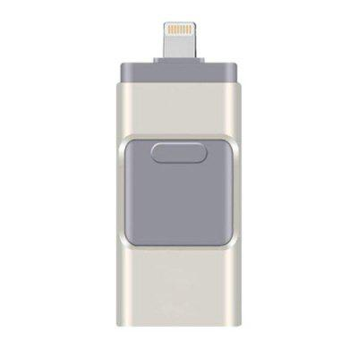 Фото - USB Flash Drive 4 In 1 HD USB Stick 3.0 Flash Stick For IPhone Android Type C USB Key OTG Pendrive flash furniture fabric comfortable stackable steel side chair