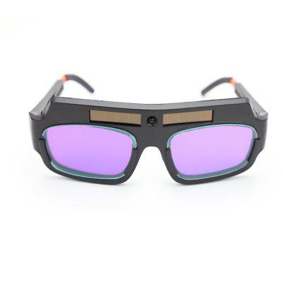 Anti-glare and Anti-ultraviolet Automatic Dimming Solar Welding Glasses
