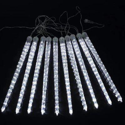 LED Meteor Shower Light Outdoor Street Tree Lamp Waterproof Patch Water Lights for Decoration 30cm Long 8pcs / Group