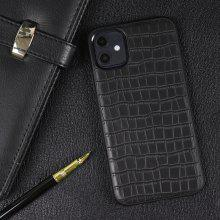 Crocodile Pattern Sticker Leather Phone Case for iPhone 11 / 11 Pro / 11 Pro MAX / XR / XS / XS MAX