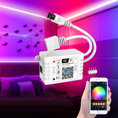 Colorful Infrared RGB WiFi Controller for Light Strip Low Voltage 5-28V