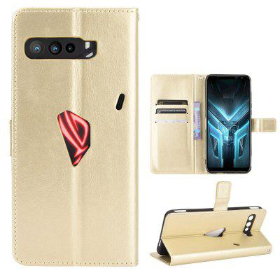 ASLING PU Leather Cover with Holder Wallet Card Storage Phone Case for Asus ROG 3