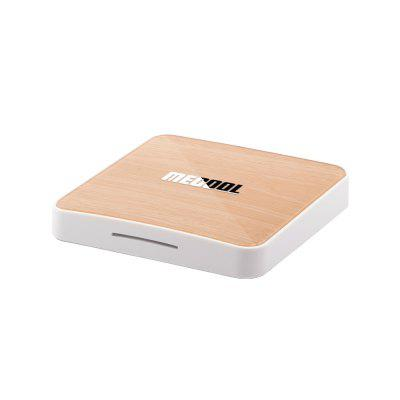 Mecool KM6 Deluxe Edition Android 10.0 ATV TV Box 2T2R 2.4G / 5G WiFi Network Player Bluetooth 5.0 with Google Play YouTube + Amlogic S905X4 CPU + Hig