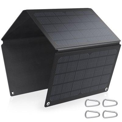 Alfawise 30W ETFE Solar Panel Charger Quick Charging 3.0 High Solar Conversion Rate