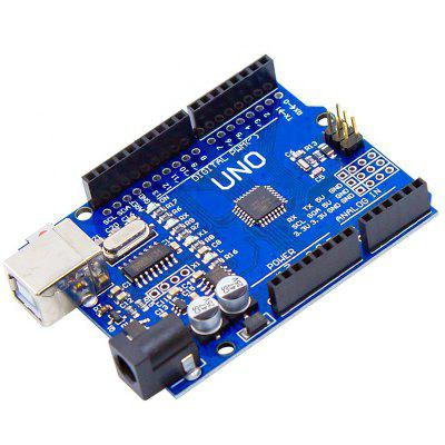 CH340G Expert Upgraded and Optimized Development Board with 50CM Data Cable Suitable for UNO R3 uno r3 development board atmega328p ch340g for arduino uno r3 with usb cable pin header acrylic case