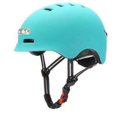 Smart Cycling Bicycle Balance Motorcycle Bike MTB Helmet with Light