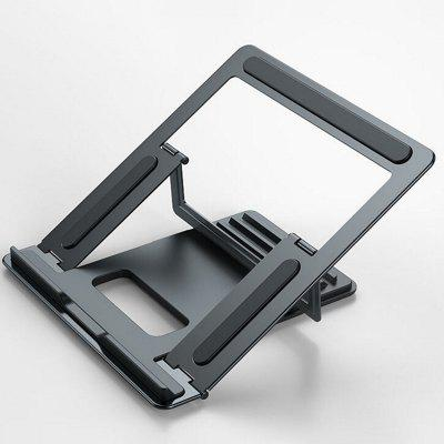 Laptop Bracket Desktop Elevated Base Lifting Metal Folding Storage