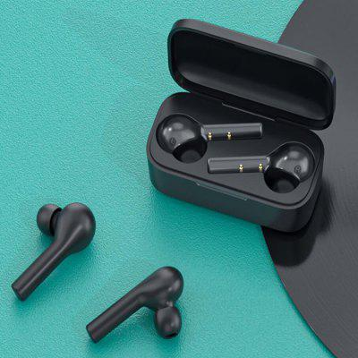 QCY T5 Wireless Bluetooth 5.0 Earbuds Headphone Touch Control Sports Running Earphone Double Microphones Comfortable Wear