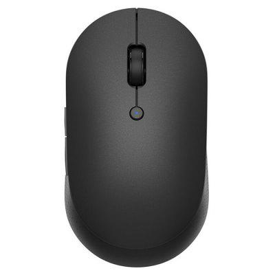 Xiaomi Wireless Bluetooth Dual Mode Mouse Silent Edition Protable Gaming Mouse Global Version мышь xiaomi mi dual mode wireless mouse silen edition receiver black wxsmsbmw02 hlk4041gl