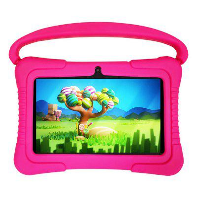 T8 7 Inch Children Tablet PC Kid Tablets Designed For Kids Quad Core WiFi Android 8.1 Preinstalled Early Education Games International Edition European Regulations