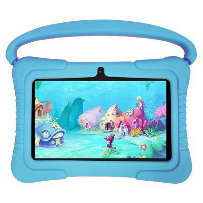 T8 7 inch Children Tablet PC Kid Tablets Designed for Kids Quad Core WiFi Android 8.1 Preinstalled Early Education Games International Version